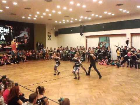 Disco dance duo Orlová 2013