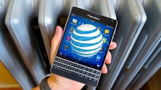 BlackBerry Passport (AT&T Edition): Unboxing + First Impressions