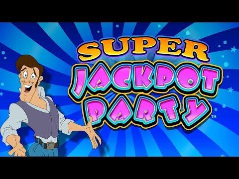 Super Jackpot Party Slot - BIG WIN BONUS, AWESOME!!!