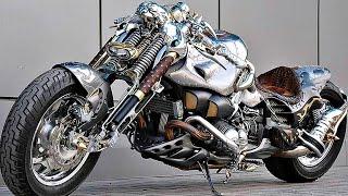 😵 СумаСшедшие Самодельные Мотоциклы 👏!
