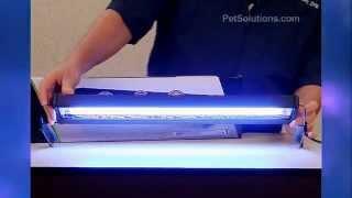 Petsolutions: Marquis Dual-lamp T5ho Aquarium Light Fixtures With Timer