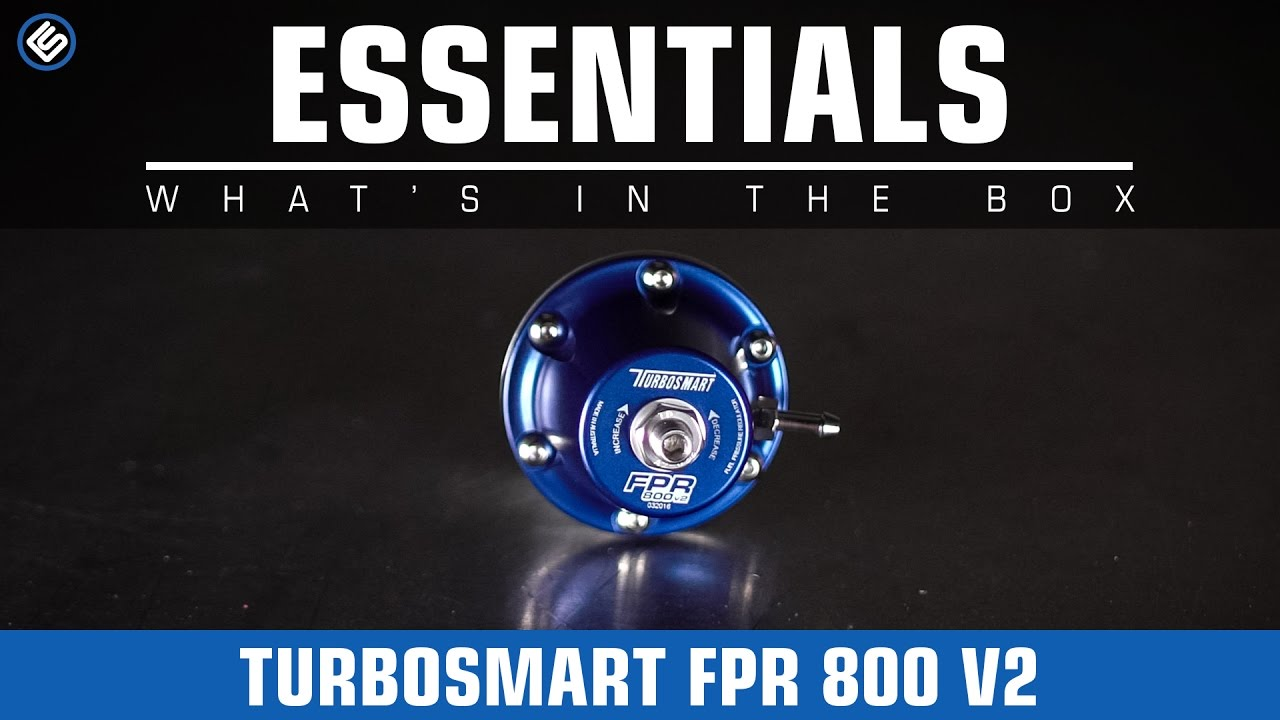 Turbosmart fpr 800 v2 what 39 s in the box youtube for What is fpr rating