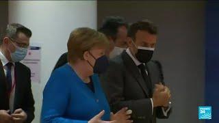 Franco-German relations: Merkel to pay farewell visit to Macron in Paris • FRANCE 24 English