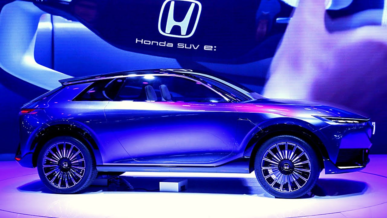 All-new Honda SUV e – Modern Electric Car!