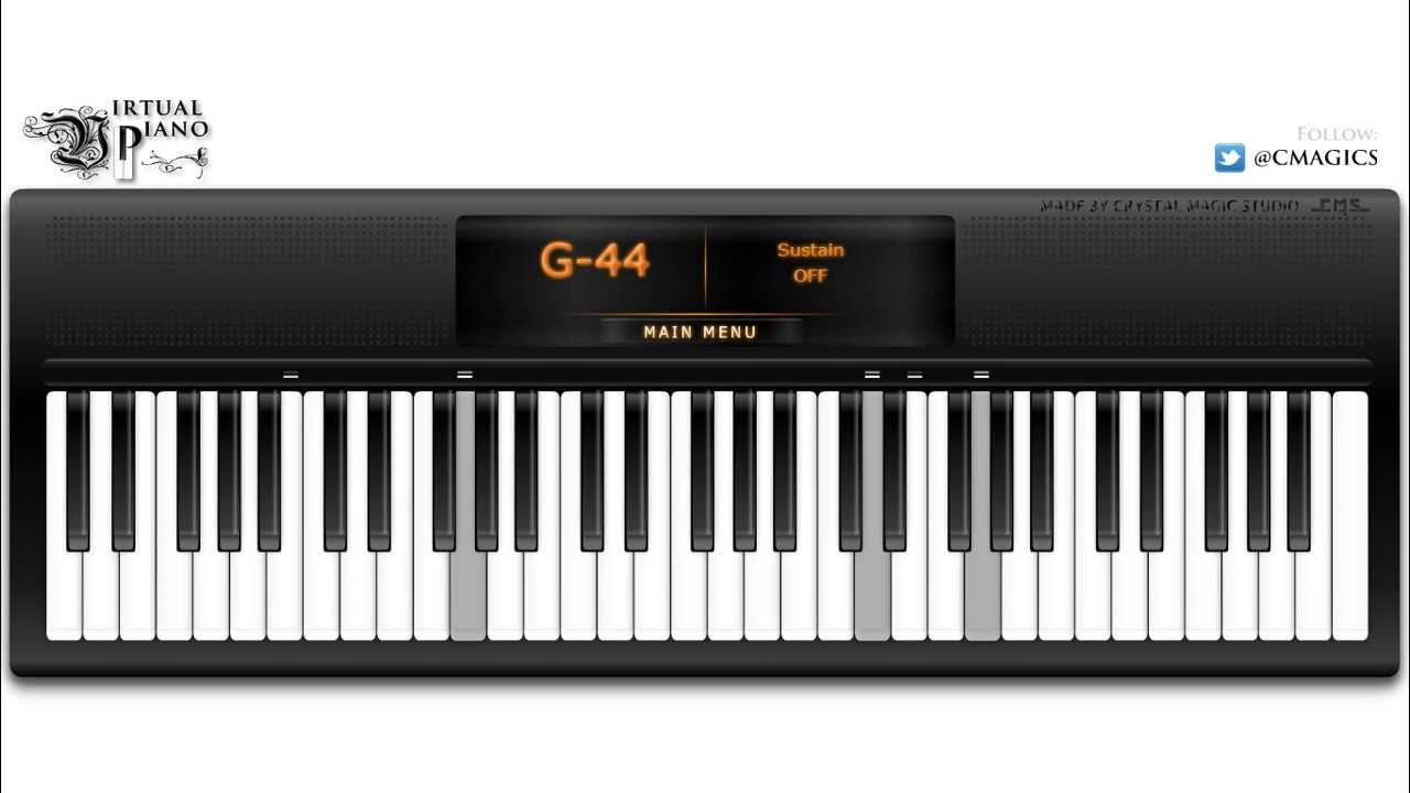 Piano Videos Created Using Virtual Piano   Virtual Piano