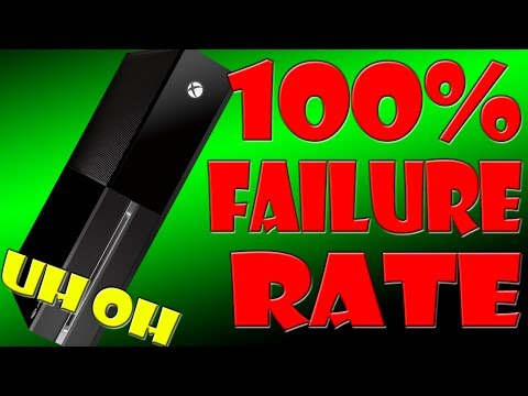 XBOX ONE HAS 100% FAILURE RATE | OUT OF THE BOX FAIL 4 ALL