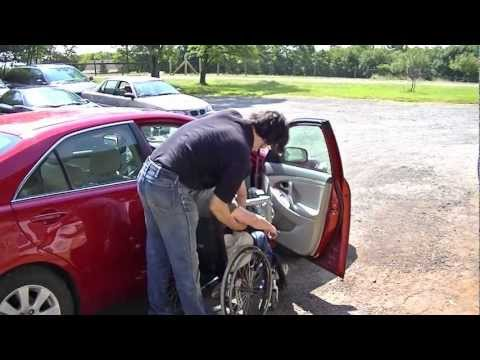 Multi-LIft Disability/Handicap Personal Transfer Lift in Car (