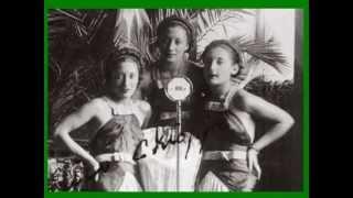 FIORE DEL TIGRAI: Trio Lescano con l