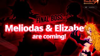 😱¡OFICIAL NUEVO FINAL BOSS DEMON MELIODAS y ELIZABETH +DERIERI!😱 Seven Deadly Sins: Grand Cross