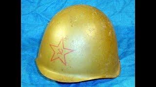 каски Великой Отечественной Войны СШ-40 | Еще дна находка в том же фундаменте)