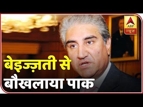 "Namaste Bharat: Shah Mehmood Qureshi Accuses India Of Blocking The ""Progress"" Of SAARC   ABP News"