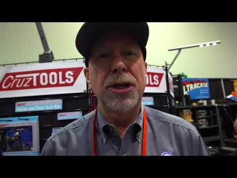 NAMM 2018 - Cruz Tools - Groove Tech Multi-Tool