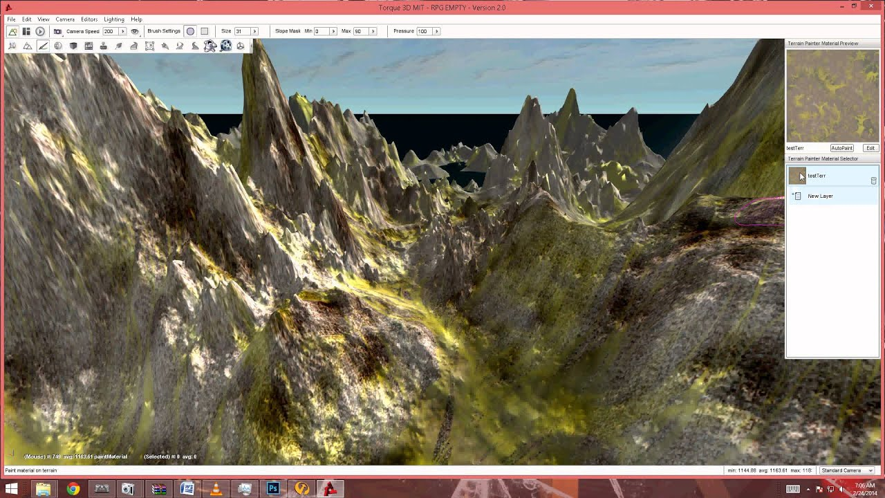 Free Terrain Height Map | Kevin Mitchell | Resources