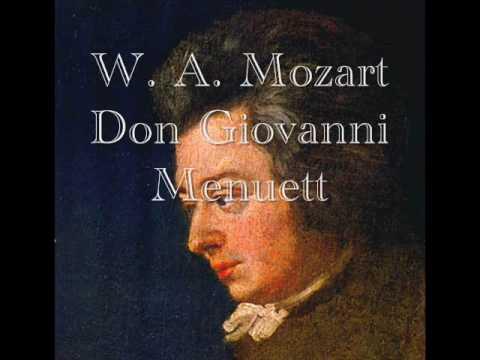 W. A. Mozart - Don Giovanni Menuett - YouTube