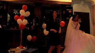 Инна Вальтер поет на свадьбе. Спб