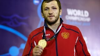 Tashkent 2014 World Freestyle Wrestling Championship 74kg   Denis Tsargush RUS Gold Medal