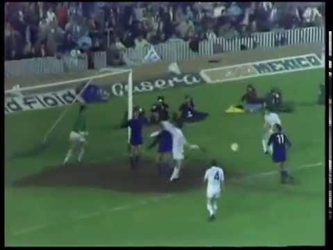1975 European cup (Semi - Final),second leg - FC Barcelona vs Leeds United