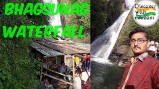 Bhagsunag waterfall Dharamshala 2018 ! By Discover with Shubam