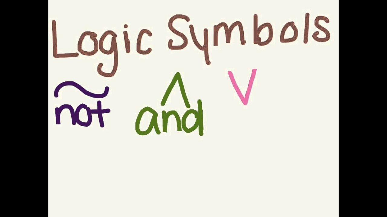 Logic symbols youtube buycottarizona