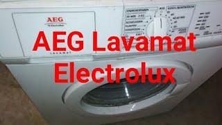 стиральная машина AEG Elektrolux. Небольшой обзор. Waschmaschine AEG Electrolux