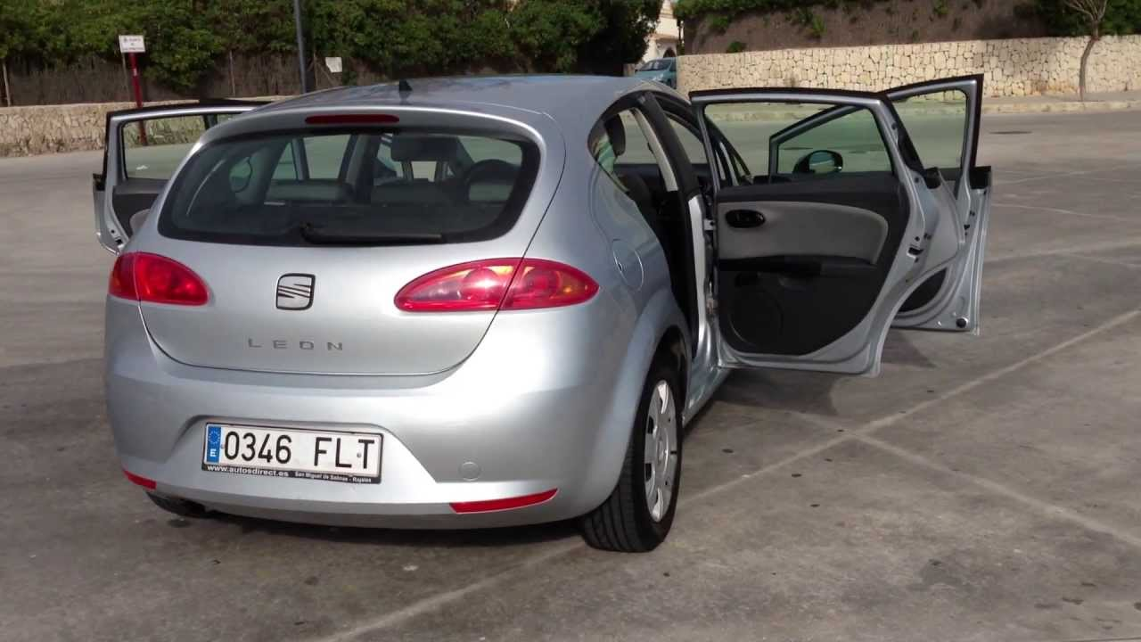 2007 seat leon 1 9 tdi reference 5dr 105 bhp lhd for sale in spain youtube. Black Bedroom Furniture Sets. Home Design Ideas