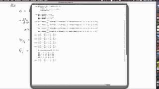1D FEM Voorbeeld (met code)