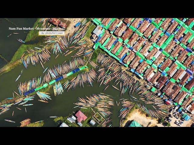 PUTV VISUALS // Nam Pan Market (Inle Lake - Shan State, Myanmar)