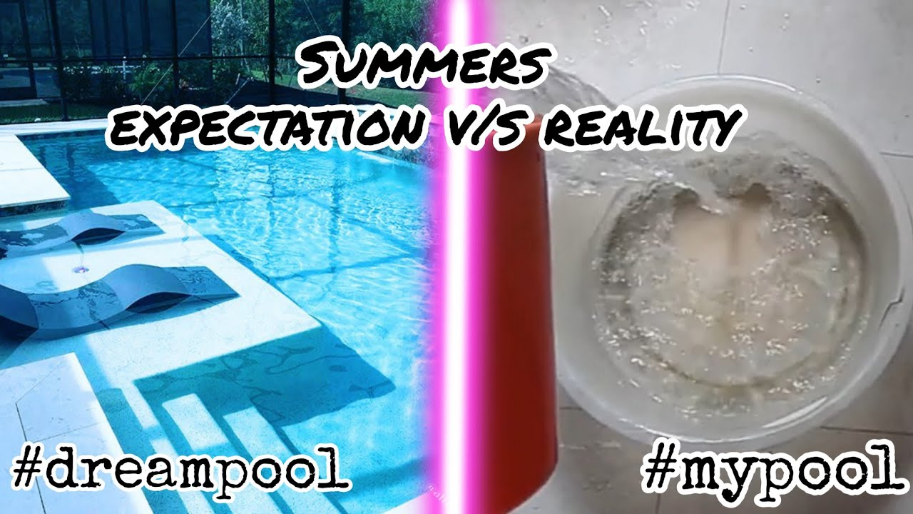 Summers expectation vs reality