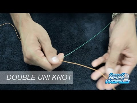 Easy Fishing Knots - How to tie a Double Uni Knot