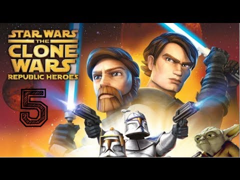 Star Wars - Clone Wars - Republic Heroes - Walkthrough Part 5 |