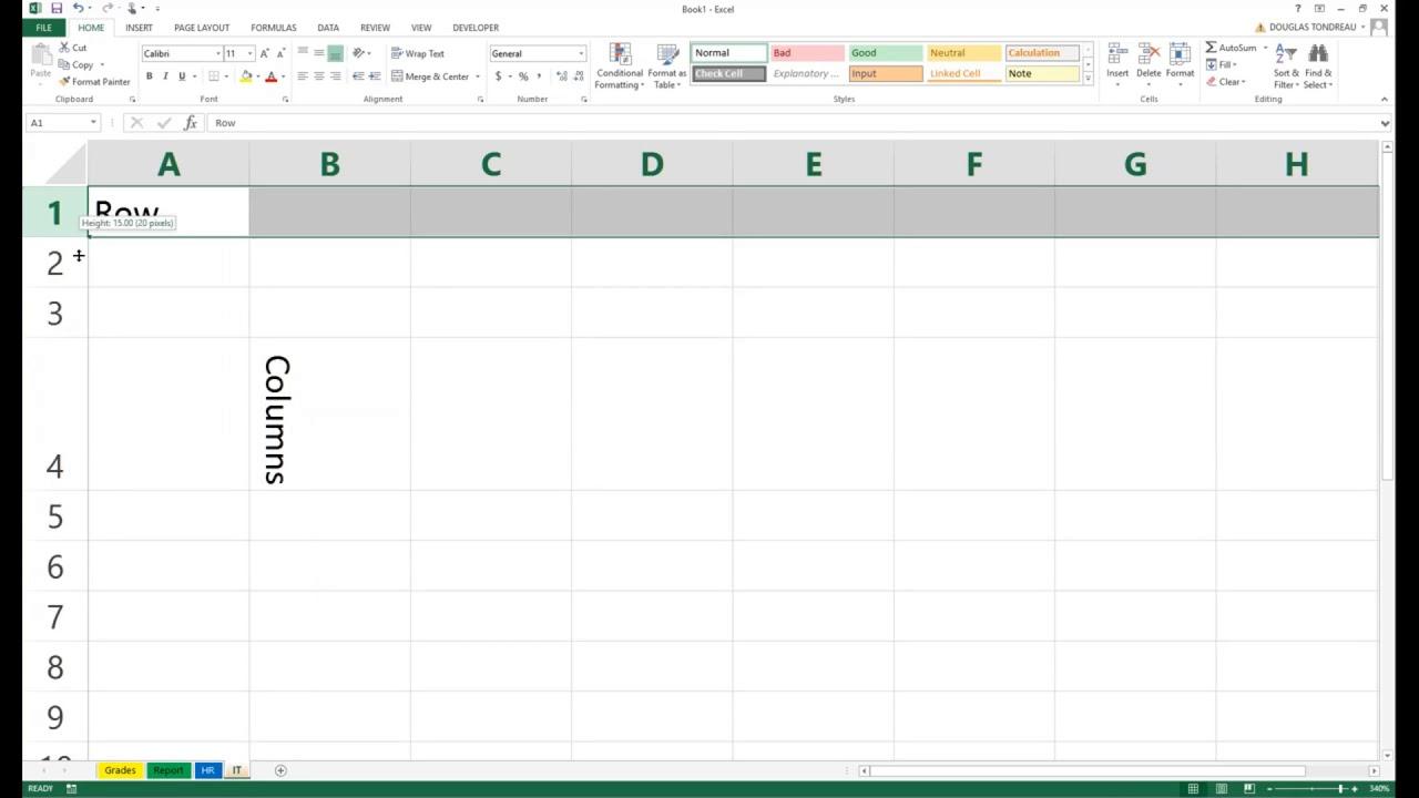 2016 Excel Worksheet : Excel workbook worksheet youtube