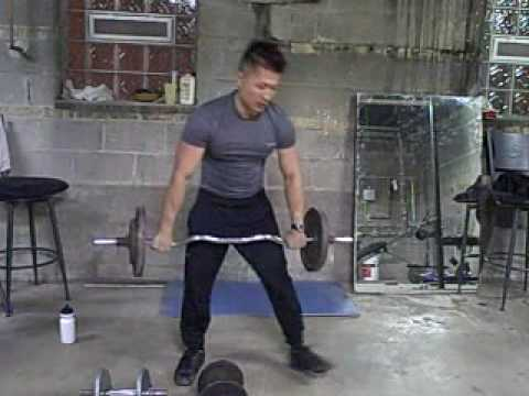 Fitness Lesson #14:  Shoulder Exercise Routine (2009 Freddie's Modern Kung Fu)