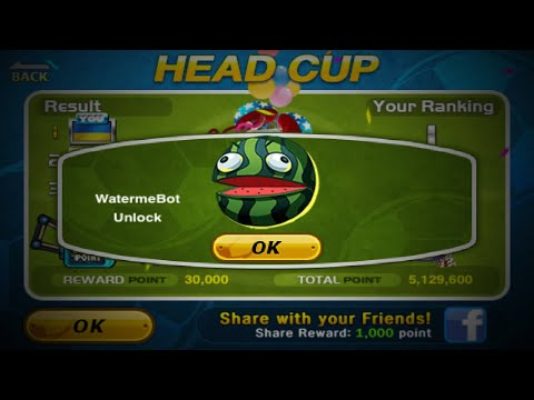Head Soccer  How to Unlock WATERMEBOT