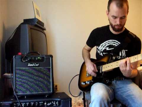 Bad Cat Mini Cat w/Eminence Red Fang, Telecaster w/Kinman Broadcasters