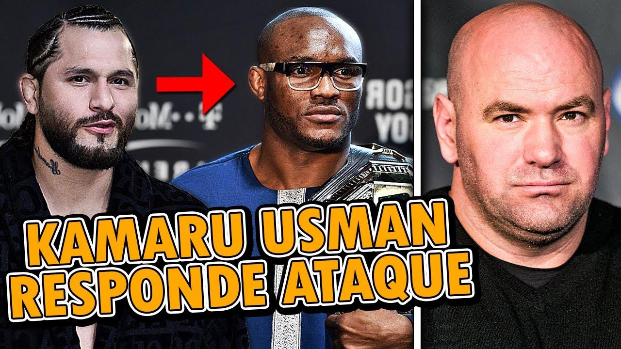 Jorge Masvidal LANZA BRUTAL ATAQUE a Kamaru Usman ANTES de UFC 251, Kamaru Usman RESPONDE a Masvidal