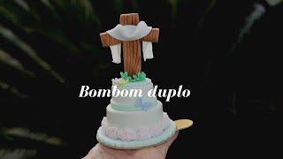 CURSO DE PÁSCOA - BOMBOM DUPLO DECORADO