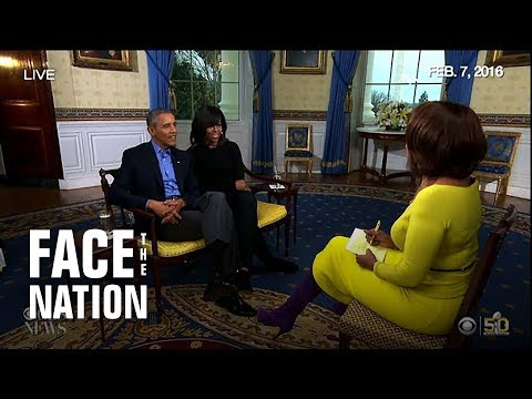 President Obama's Super Bowl interview with Michelle Obama in 2016