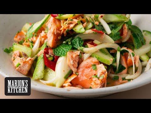 Thai-style Salmon Salad Marion's Kitchen