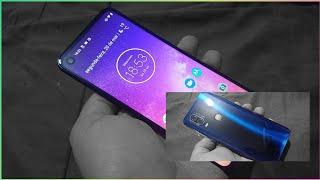 Unboxing (desembalando) Motorola One Vision