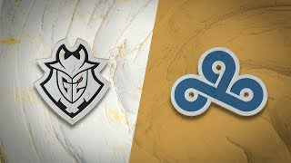 G2 vs C9 | Worlds Group Stage Day 3 | G2 Esports vs Cloud9 (2019)