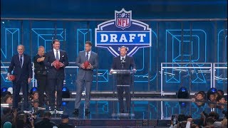 Crowd Booing Roger Goodell at 2018 NFL Draft | Apr 26, 2018