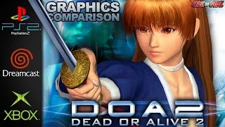 Dead or Alive 2 / Ultimate | Graphics Comparison | ( PS2 , Dreamcast , Xbox )