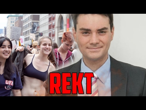 Ben Shapiro MELTS High School Students! (Crazy Liberal Students)