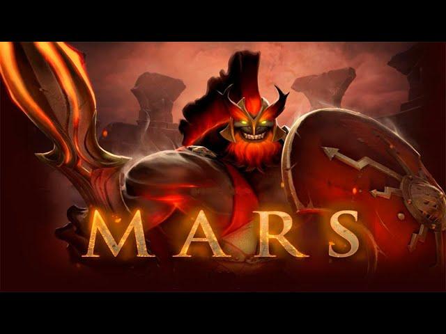 MARS  Гайд по dota 2 - Мар� нова� ИМБ�!
