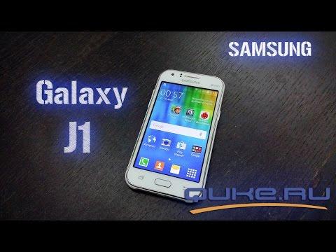 Samsung Galaxy J1 - первый в линейке Galaxy J ◄ Quke.ru ►
