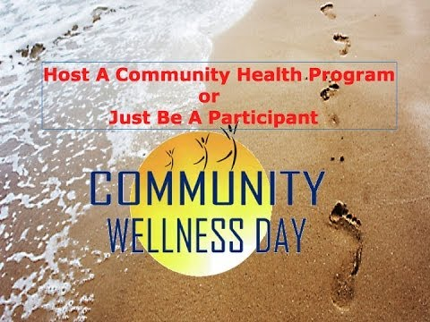 Difference between hosting a Community Health Program or simply participating in one? Hangout on air