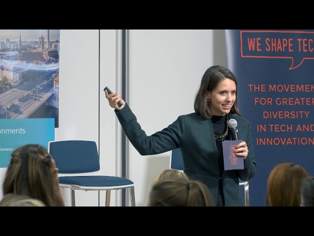 Part 2 | Melanie Gabriel from Expense Robot and WE SHAPE TECH | WE SHAPE TECH role models event