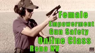 Female Empowerment Gun Safety Online Classes-Ladies Empowermen…