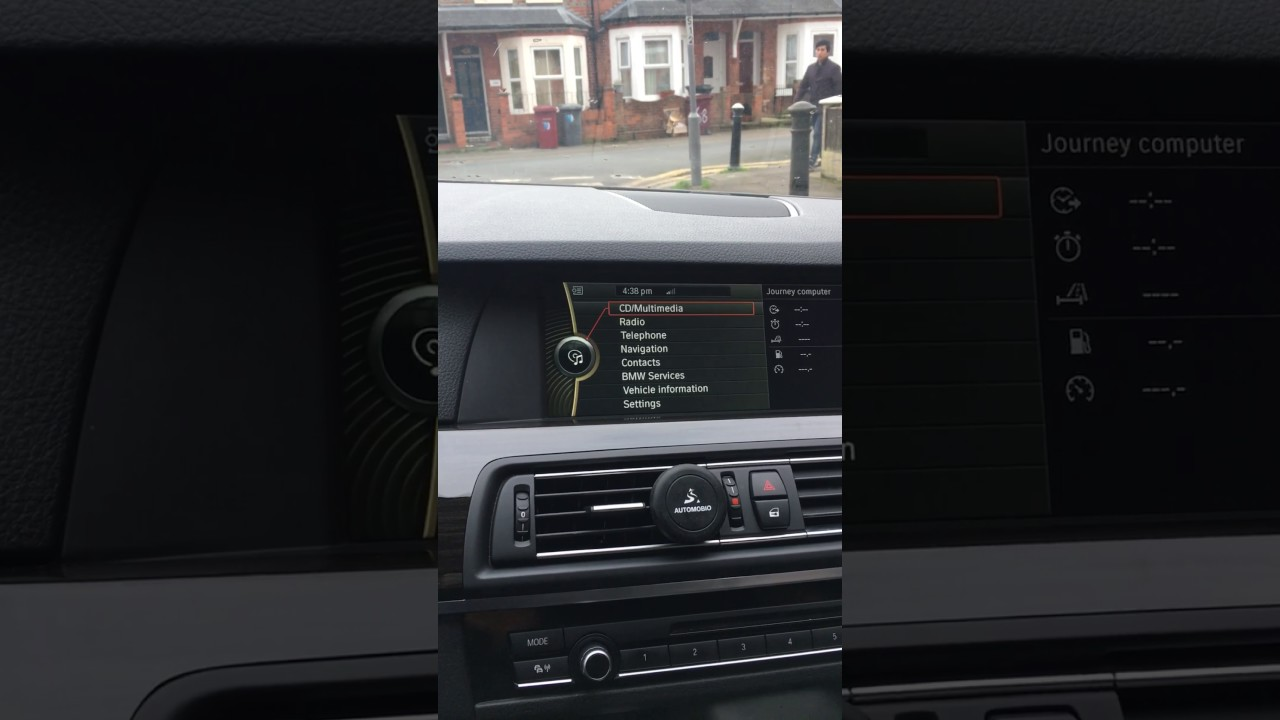 How to load Music Files on to f10 2010 BMW 5 series from USB