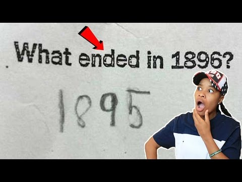 Thumbnail: TRY Not To Laugh At These FUNNIEST KIDS TEST ANSWERS!!!
